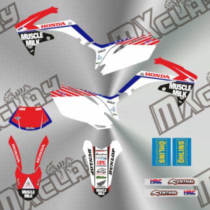 HONDA CRF X 2012 MUSCLE MILK