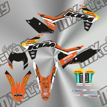 KTM EXC 2011/13 RÉPLICA DHL