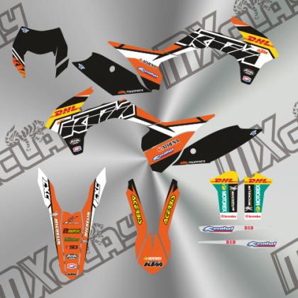 KTM EXC 2014/16 RÉPLICA DHL