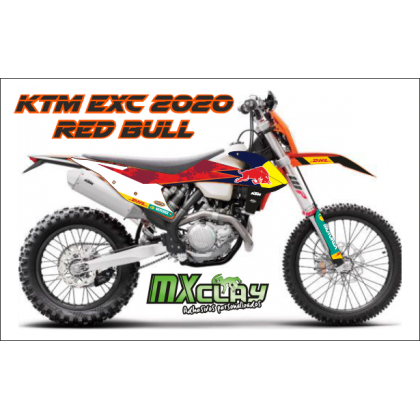 KTM EXC 2020 RÉPLICA RED BULL