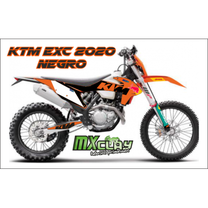 KTM EXC 2020 NEGRO