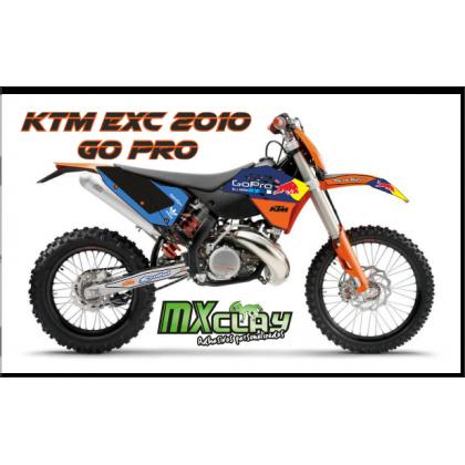 KTM EXC 2008 GO PRO