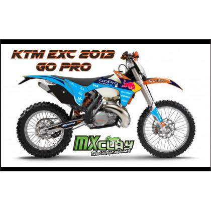 KTM EXC 2013 GO PRO