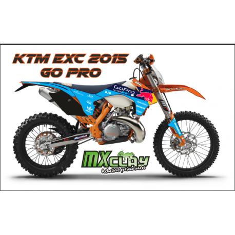 KTM EXC 2015 GO PRO
