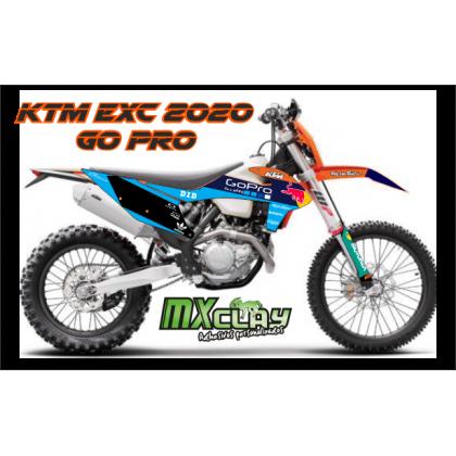 KTM EXC 2020 GO PRO