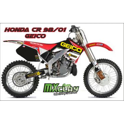 HONDA CR 2000 GEICO