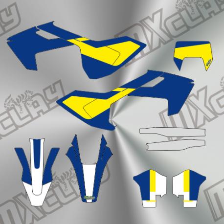 husqvarna fe 2017 azul amarillo