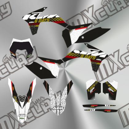 KTM EXC 2013 RÉPLICA SIX DAYS GERMANY